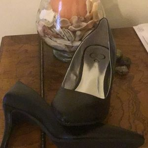 Shoes - Black heels Macy's never worn